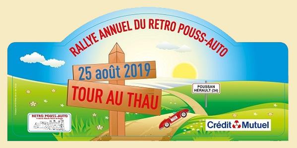 Plaque Rallye 2019 newsletter