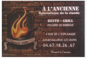 RESTO-GRILL A L'ANCIENNE
