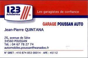 GARAGE 123 AUTO SERVICE POUSSAN