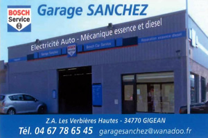GARAGE SANCHEZ GIGEAN